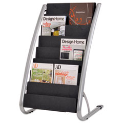 Alba(TM) Literature Floor Display Rack