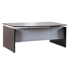 Alera(R) Sedina Series Bow Front Desk Shell