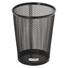 Nestable Jumbo Wire Mesh Pencil Cup, 4 3/8 dia. x 5 2/5, Black