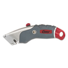 Clauss(R) Titanium Auto-Retract Utility Knife