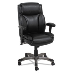 Alera(R) Veon Series Leather Mid-Back Manager's Chair