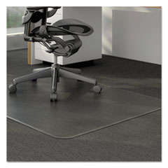 Alera(R) Studded Chair Mat for Low Pile Carpet