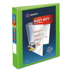 Avery(R) Heavy-Duty View Binder with DuraHinge(TM) and Locking One Touch EZD(R) Rings