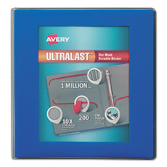 Avery(R) UltraLast(R) Heavy-Duty View Binder with One Touch Slant Rings