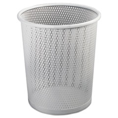 Artistic(R) Urban Collection Punched Metal Wastebin