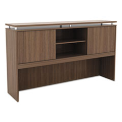 Alera(R) Sedina Series Hutch with Sliding Doors