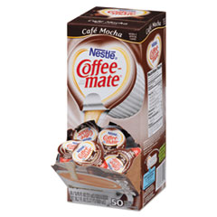 Café Mocha Liquid Coffee Creamer, 0.38 oz. Single-Serve Cups, 50/BX