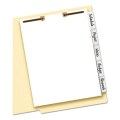 Avery(R) Write-On Tab Dividers for Classification Folders