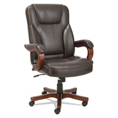 Alera(R) Transitional Series Executive Wood Chair