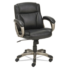 Alera(R) Veon Series Low-Back Leather Task Chair