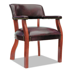 Alera(R) Traditional Series Guest Arm Chair