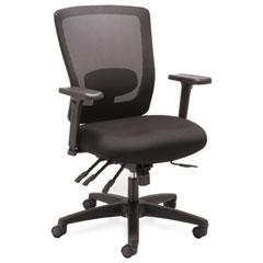 Alera(R) Envy Series Mesh Mid-Back Multifunction Chair