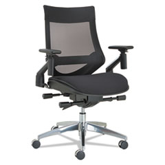 Alera(R) EB-W Series Pivot Arm Multifunction Mesh Chair