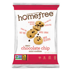 Gluten Free Chocolate Chip Mini Cookies, 1.1 oz Pack, 30/CS