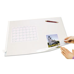 Artistic(R) Second Sight Clear Plastic Desk Protector