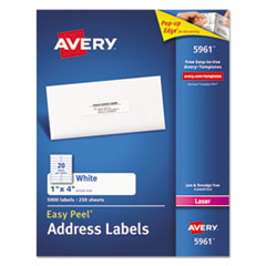 Avery(R) Easy Peel(R) White Address Labels
