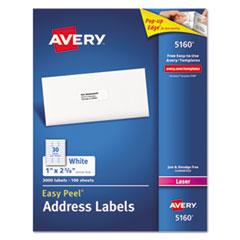 Avery(R) Easy Peel(R) White Address Labels