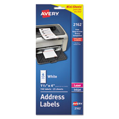 Avery(R) Mini-Sheets(R) Mailing Labels