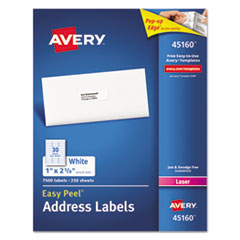 Avery(R) White Address Labels for Laser Printers