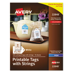 Avery(R) Printable Tags with Strings