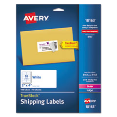 Avery(R) Shipping Labels with TrueBlock(R) Technology