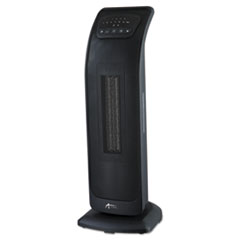 Alera(R) Tower Ceramic Heater with Remote Control