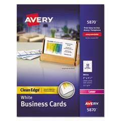 Avery(R) Premium Clean Edge Business Cards