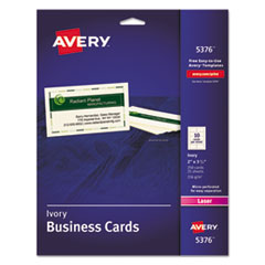 Avery(R) Standard Printable Microperforated Business Cards