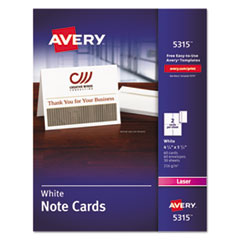 Avery(R) Note Cards with Matching Envelopes