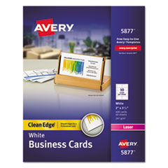 Avery(R) Premium Clean Edge Business Cards