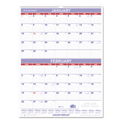 AT-A-GLANCE(R) Two-Month Wall Calendar