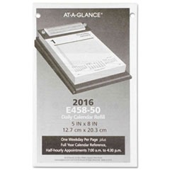 AT-A-GLANCE(R) Pad Style Desk Calendar Refill