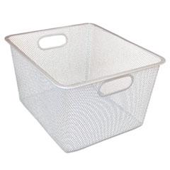 Alera(R) Wire Mesh Nesting Shelving Baskets