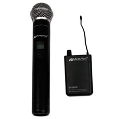 AmpliVox(R) Wireless 16 Channel UHF Handheld Mic Kit