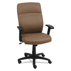 Alera(R) High-Back Swivel/Tilt Leather Chair
