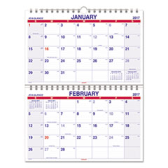 AT-A-GLANCE(R) Move-A-Page Two-Month Wall Calendar