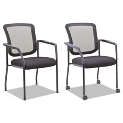 Alera(R) Mesh Guest Stacking Chair