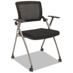Alera Plus(TM) Flex Back Nesting Chair
