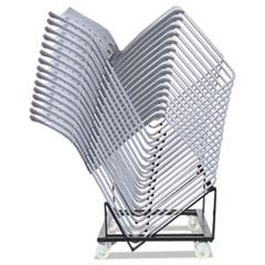 Alera(R) High-Density Stacking Chair Cart