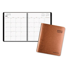AT-A-GLANCE(R) Contemporary Large Monthly Copper Planner