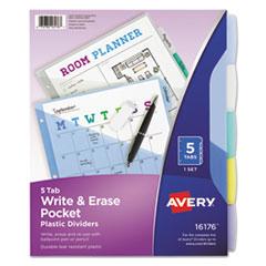 Avery(R) Write-On Big Tab(TM) Plastic Dividers