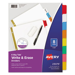 Avery(R) Write-On Big Tab(TM) Paper Dividers