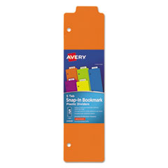 Avery(R) Tabbed Snap-In Bookmark Plastic Dividers
