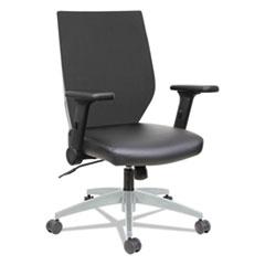 Alera(R) EB-T Series Synchro Mid-Back Flip-Arm Chair
