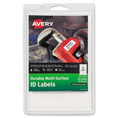 Avery(R) Durable Permanent Multi-Surface ID Labels