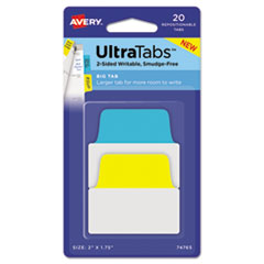 Avery(R) Ultra Tabs(TM) Repositionable Tabs