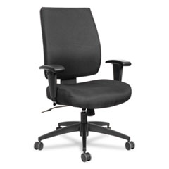 Alera(R) Wrigley Series High Performance Mid-Back Synchro-Tilt Task Chair