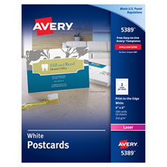 Avery(R) Printable Postcards