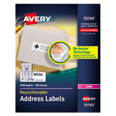 Avery(R) Repositionable Labels