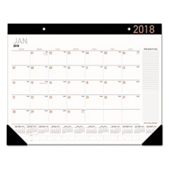AT-A-GLANCE(R) Contemporary Monthly Desk Pad